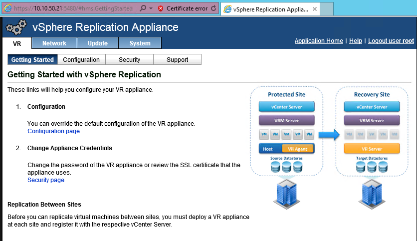 VMReplicationSetup-Configure-ReplicationAppliance1