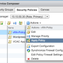 vRealize Automation 6 with NSX – Firewall