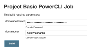 Test PowerCLI Code with Jenkins