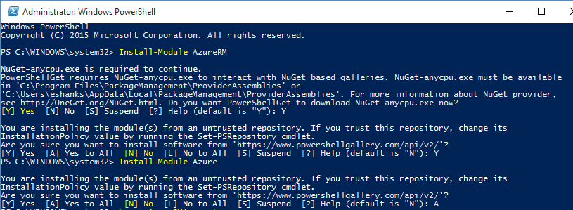 Get Started with Azure PowerShell