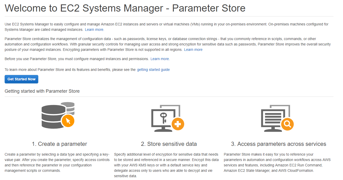 EC2 Systems Manager Parameter Store - The IT Hollow