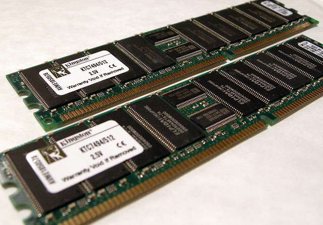 ECC RAM with 9 chips