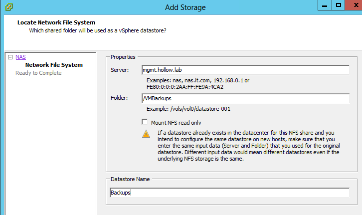Windows 2012 Storage for Home Lab