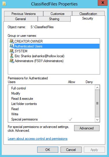 FolderSecurityDAC