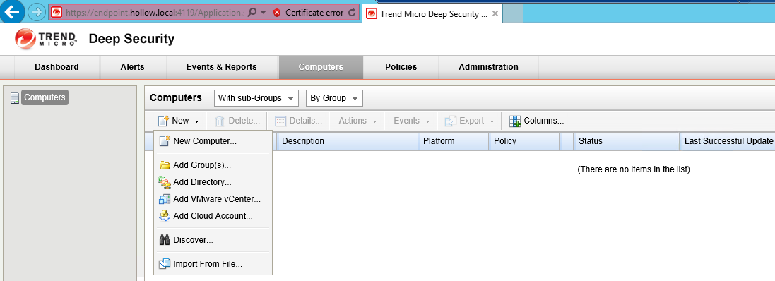 vShield Endpoint - Trend Micro Deep Security (Part 2) - The IT Hollow