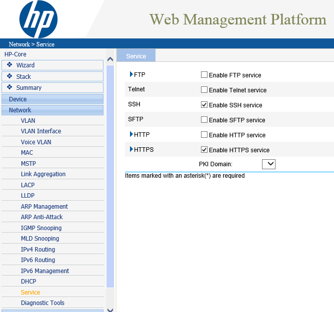 HP v1910-24G CLI Goody - The IT Hollow