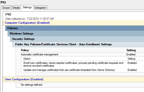 Roob home lab ssl certificates since this is a machine certificate be sure to have it affect an ou with your computers in it if not the entire domain yadclub Gallery