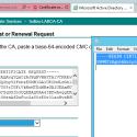 Create VMware SSL Certificate Requests