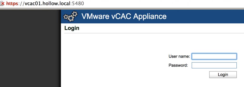 vmwarecert-console