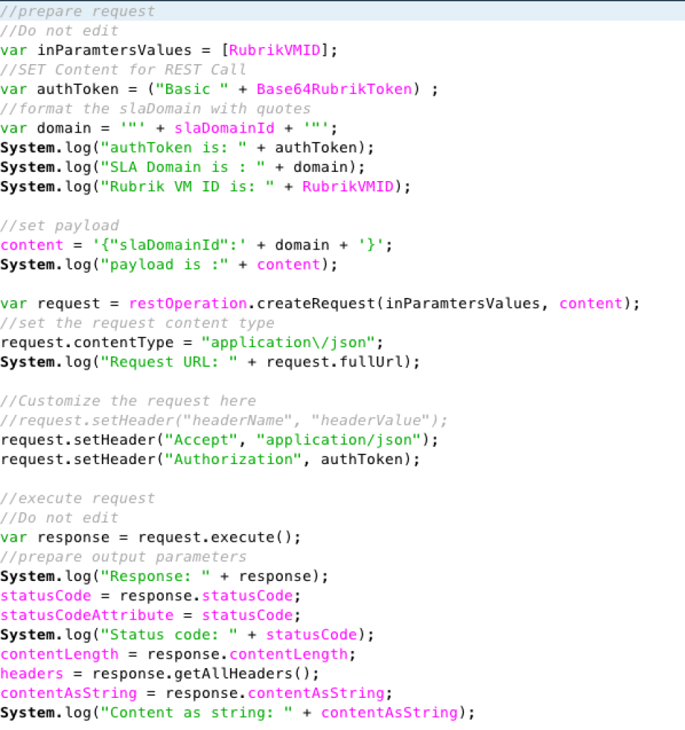 RubrikAssignSLA-scripting