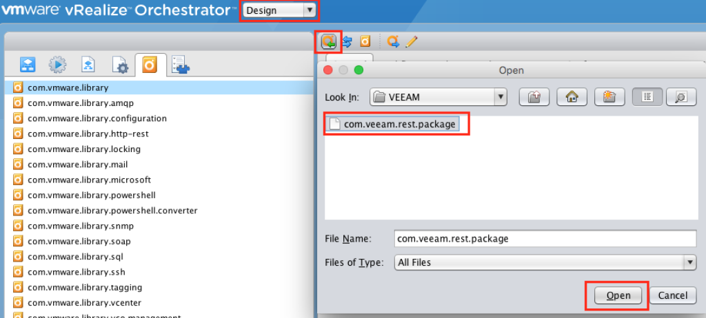 Veeam-ImportPackage