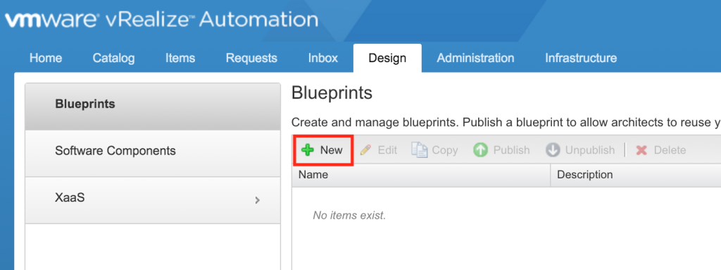 Vrealize automation 7 blueprints the it hollow give the new blueprint a name and a unique id the id cant be changed later so be sure to make it a good one next enter a description as well as malvernweather Images