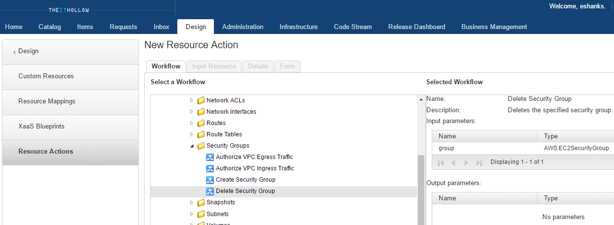 vRA7CustomResourceAction1