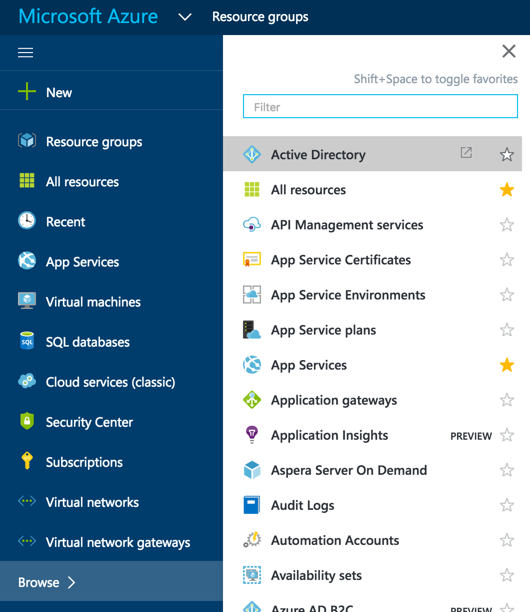 Setup the Azure AD Connector - The IT Hollow