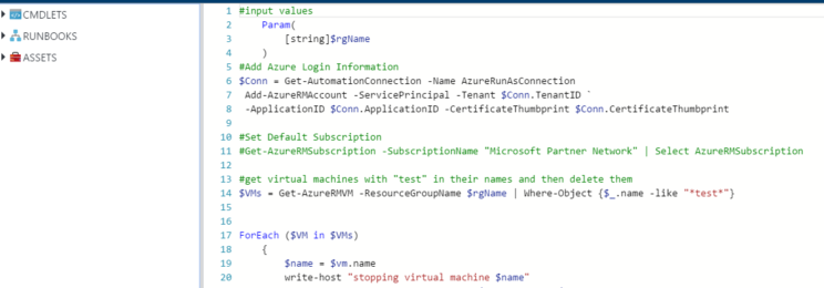 Get Started with Azure Automation