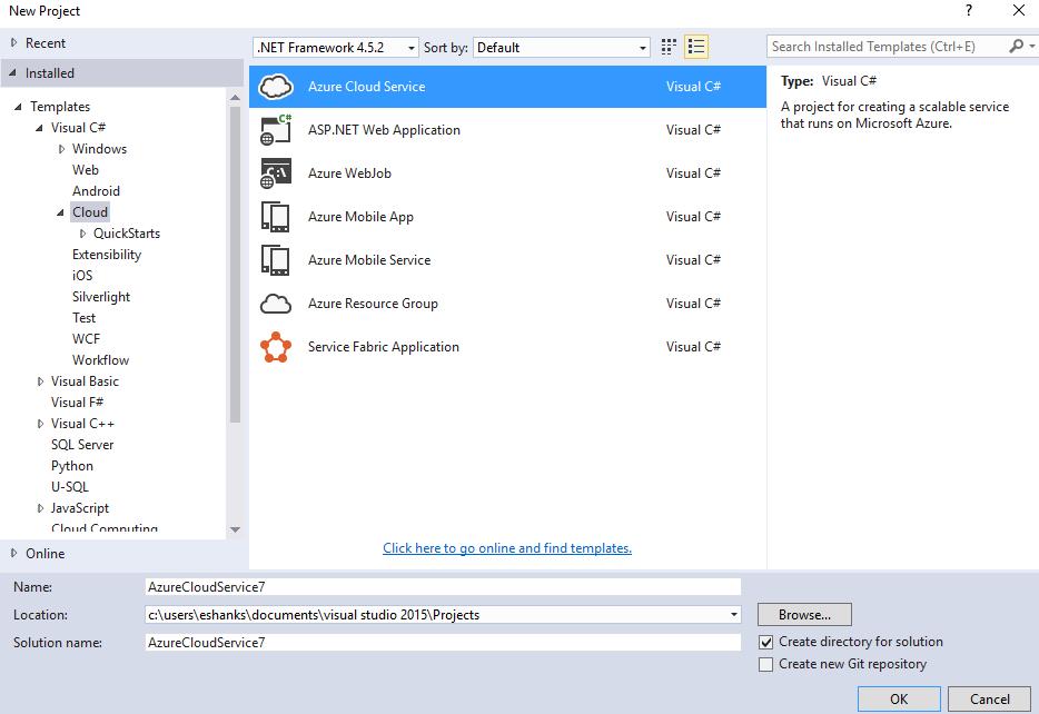 AzureCloudService1