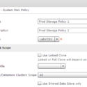 UCS Director VMware Storage Policy
