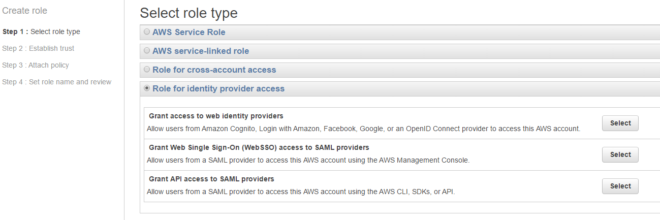 Setup ADFS for Amazon Web Services SAML Authentication - The