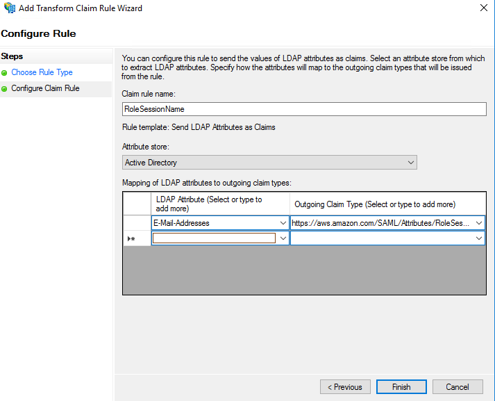 Setup ADFS for Amazon Web Services SAML Authentication - The IT Hollow