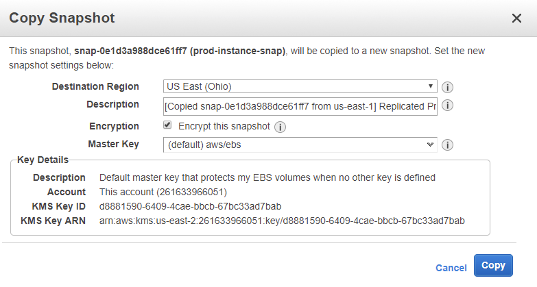 Move an EC2 Instance to Another Region - The IT Hollow