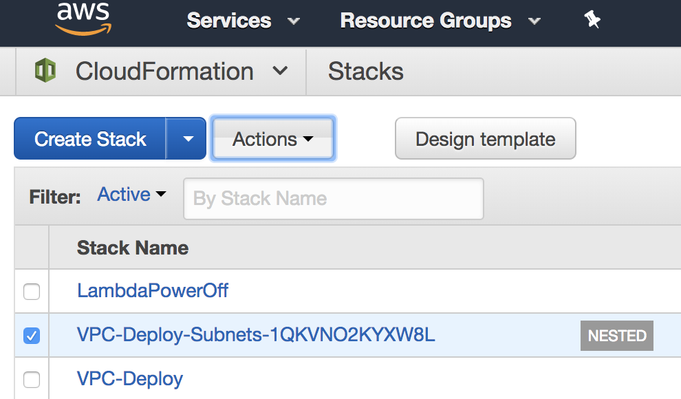 Using Change Sets with Nested CloudFormation Stacks - The IT