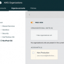 Add a New AWS Account to an Existing Organization from the CLI