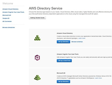 AWS Directory Service – Microsoft AD