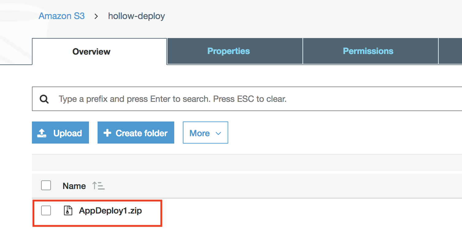 Using AWS CodeDeploy to Push New Versions of your Application - The