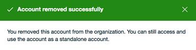 Close an AWS Account Belonging to an Organization